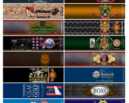 Cigar Bands Sample 1